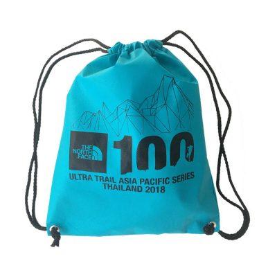 กระเป๋าสปันบอนด์หูรูด สกรีน